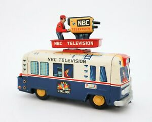 Yonezawa - Tin RCA Victor NBC Television TV News Van