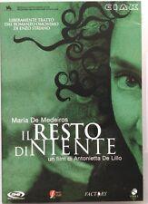 Dvd Il Resto di niente di Antonietta De Lillo 2004 Nuovo editoriale