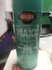 krylon spray paint Cover Maxx Sea Grass Satin 6 Cans