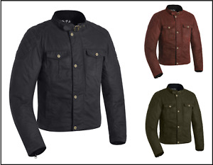 Oxford Holwell 1.0 Traditional Style Motorcycle Motorbike Touring Waxed Jacket