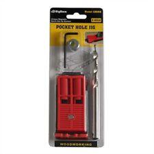 Big Horn 12602 4Pcs Mini Pocket Hole Jig System (Two Holes)