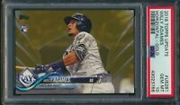 2018 Topps Update US281 Willy Adames RC Gold Parallel 0773/2018 PSA 10 Gem Mint