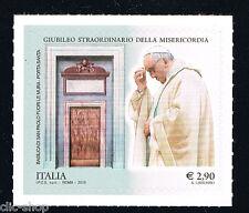 ITALIA 1 FRANCOBOLLO GIUBILEO STRAORDINARIO DEL. MISERICORDIA PAPA 2015 nuovo**