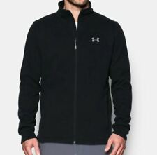 Under Armour Men's UA Storm Specialist Jacket Size Large Black Fitted 1303819