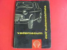 VADEMECUM SHELL DELL'AUTOMOBILISTA - IN COPERTINA ALFA ROMEO GIULIETTA