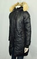 Women's CANADA GOOSE Kensington Parka Size Small S Black Coat Jacket Down Fur