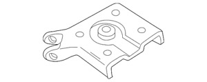 Genuine Ford Mount Plate F57Z-5798-AD