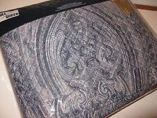 Ralph Lauren ALLISTER full queen Blue Paisley Quilted Coverlet $355