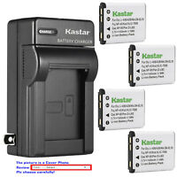 Kastar Battery Wall Charger for Olympus Li-40B Li42B & Olympus Stylus 840 Camera