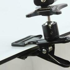 """Spring Ball Head Holder Mount Clip Clamp 1/4"""" Screw Camera Compact For DSLR F5X3"""