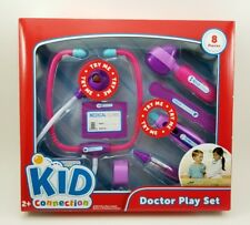 Doctor Play Set Toy Kit Pretend Play Medical Girls Pink Gift has Beating Heart.