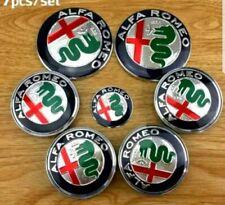 2 x Front rear emblem Badge 74mm fits ALFA ROMEO GT Giulietta Mito 159 156 147