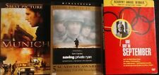 Munich (DVD, 2006) Saving Private Ryan(1999 DVD), One Day in September (2001)
