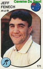 171 JEFF FENECH AUSTRALIA BOXING STICKER SUPERSPORT 1988 PANINI RARE & NEW