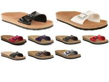 Slides Slim Heel Synthetic Sandals for Women