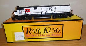 MTH RAILKING 30-2301-3 LEHIGH VALLEY C628 DIESEL NONPOWERED ENGINE TRAIN O GAUGE