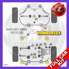 BMW E39 520-530 96-04 Rr Subframe Inserts, Not M Sport Susp Powerflex Full Kit