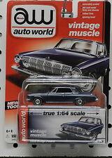 4 1 1963 DODGE DARK BLUE WEDGE POLARA MOPAR DODGE BOYS AW AUTO WORLD