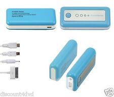 5600mAh External Battery  USB Power Bank Portable Charger for Apple ipad iphone