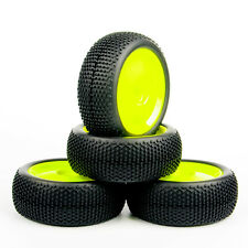 4PCS Buggy Off-Road Tires Set Tyre Wheel Rim 22054+26018 For HPI HSP 1:8 RC Car