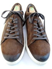 "Allen Edmonds ""CANAL COURT"" Sneakers 13 D Brown Suede  (397)"