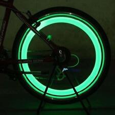Night Ride Green Lights Bicycle Bike Cycling Wheel Tire Spoke LED Light Lamp UPC