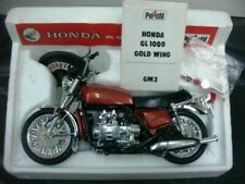 WOW EXTREMELY RARE Honda 1974 GL1000 Gold Wing Candy Orange BNIB 1:10 Polistil