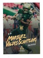 MARQUEZ VALDES-SCANTLING NFL 2018 PANINI LUMINANCE GOLD  RC (PACKERS,BULLS)