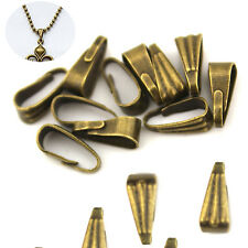 50 Pcs Style Pinch Clasp Findings Bail Connector Pendants Sunflower Seeds Buckle