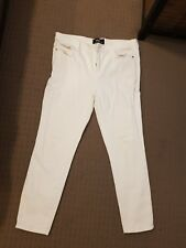 White Dotti Skinny Jeans Size 12.excellent Condition
