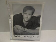 DARRYL WORLEY HERE AND NOW CD WITH AUTOGRAPHED PHOTO NO COA