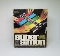 Super Simon A Computer Controlled Game 1979 Milton Bradley Vintage