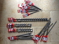 Fischer SDS-Plus Pro Drill Bits. 5-26mm ++Massive Discount++ New Sizes Added++