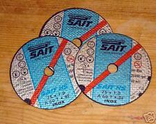 AIR CUT OFF TOOL DISC  SUPER THIN 76 X1 X 10MM  PACK  OF  10