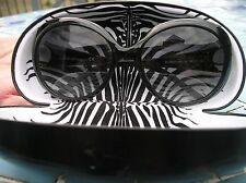 Roberto Cavalli Ladies Teseo Black  sunglasses - rare with hard case