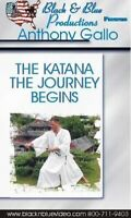 Anthony Gallo #2 Katana Journey Begins DVD japanese samurai sword suburi katas
