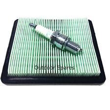 NGK Plug & Air Filter Service Kit For Flymo XL500 Honda Petrol Lawn Mowers