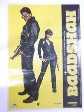 BAADSHAH 1999 Shah Rukh Khan Twinkle Khanna Rare Vintage Poster Bollywood Film