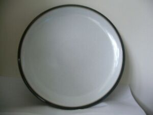 DENBY EVERYDAY GREY DINNER PLATE GOOD USED CONDITION U