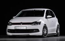 Rieger CUP Spoilerlippe VW Polo GTI 6R Spoiler Spoilerschwert Frontansatz Ansatz