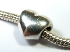 GENUINE PANDORA 925 ALE SOLID STERLING SILVER LOVE HEART CHARM BEAD 790137
