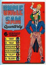 Uncle Sam Quarterly 1 Don Maris Golden age reprint   CBX11