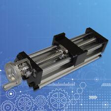 100mm Manual Sliding Table Ballscrew Linear Stage Actuator Cnc Milling Xyz New
