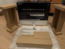 Boite Vide Avec Cales Et Notices Playstation 3 60 Go Retrocompatible