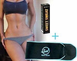 Sweet sweat stick and Slim Waist Premium Waist Trimmer all Men & Women Combo