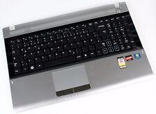Samsung rv511 rv515 rv520 teclado touchpad platina palmrest ba81-12683a alemán