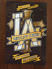 "MOTLEY CRUE Concert Postcard - Hollywood Palladium 2008 8x6"""
