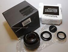 Tapa objetivamente Front lens cap para Voigtländer 20 mm f 3,5 color skopar sl II