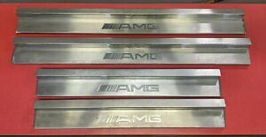 GENUINE MERCEDES BENZ AMG W124 Door Sills E500 320 420 AMG