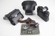 Canon A1 SLR Camera + Genuine Canon Leather Case + Winder + Manual! AWESOME SET